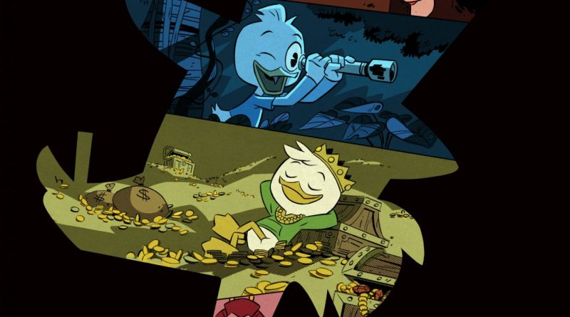 Disney XD DuckTales Teaser Art