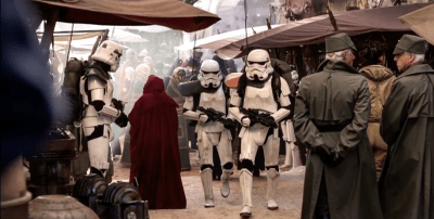 Jedha and Stormtroopers
