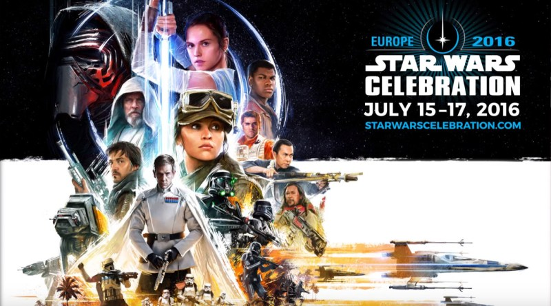 Star Wars Celebration Europe Poster