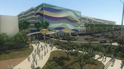 Eastern Gateway Project Rendering - Disneyland Resort