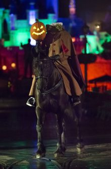 Headless Horseman at Mickey's Halloween Party at the Disneyland Resort