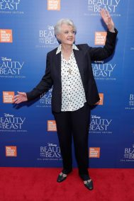 """NEW YORK, NY - SEPTEMBER 18: Angela Lansbury attends the special screening of Disney's """"Beauty and the Beast"""" to celebrate the 25th Anniversary Edition release on Blu-Ray and DVD on September 18, 2016 in New York City. (Photo by Neilson Barnard/Getty Images for Walt Disney Studios Home Entertainment) *** Local Caption *** Angela Lansbury"""