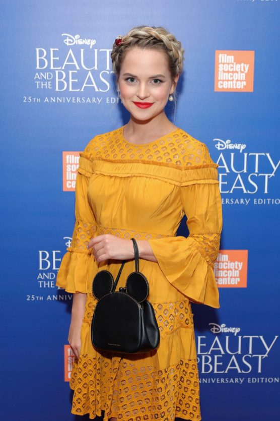"""NEW YORK, NY - SEPTEMBER 18: Stephanie Styles attends the special screening of Disney's """"Beauty and the Beast"""" to celebrate the 25th Anniversary Edition release on Blu-Ray and DVD on September 18, 2016 in New York City. (Photo by Neilson Barnard/Getty Images for Walt Disney Studios Home Entertainment) *** Local Caption *** Stephanie Styles"""