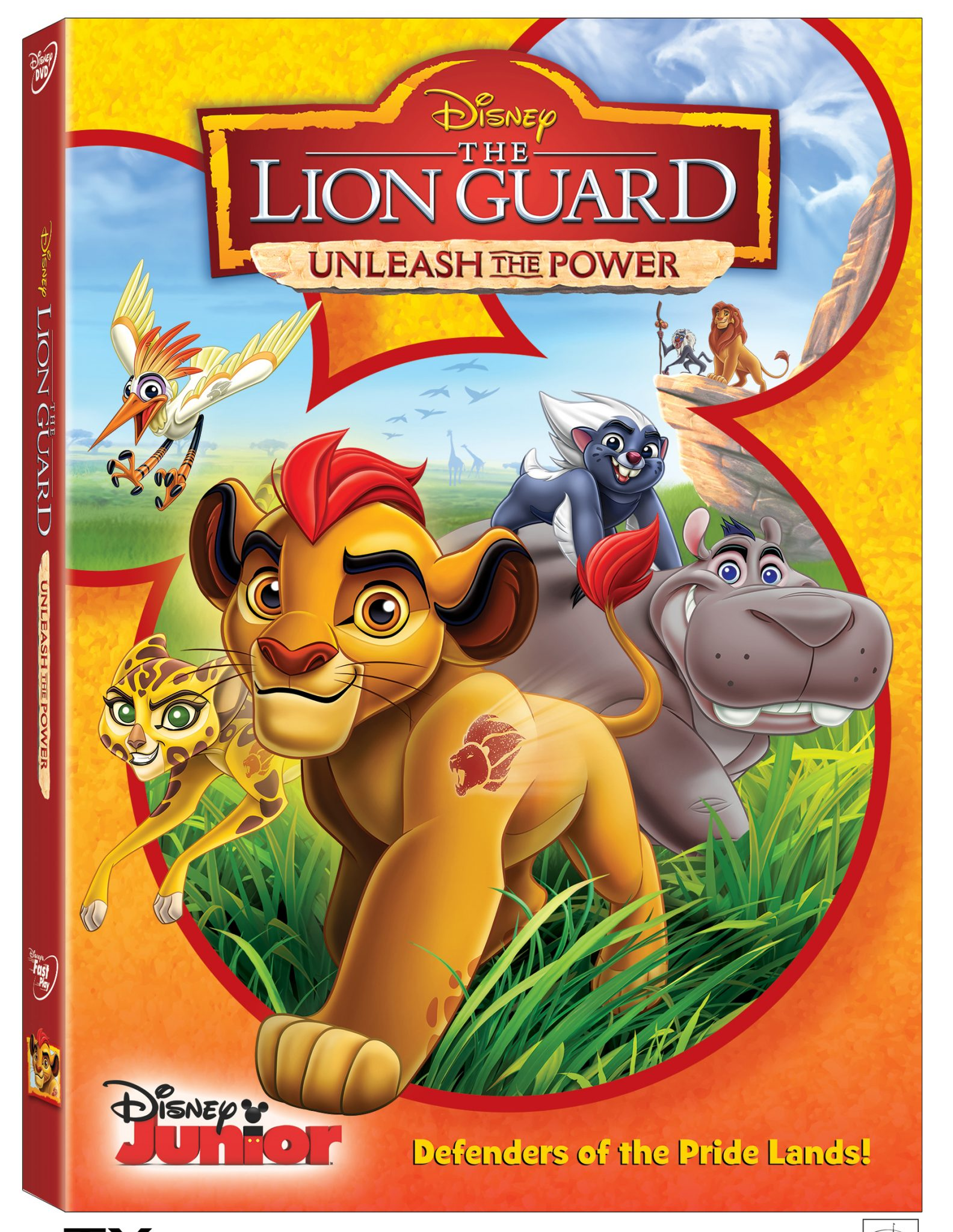 The Lion Guard Unleash the Power