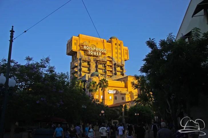 The Tower of Terror - Disney California Adventure