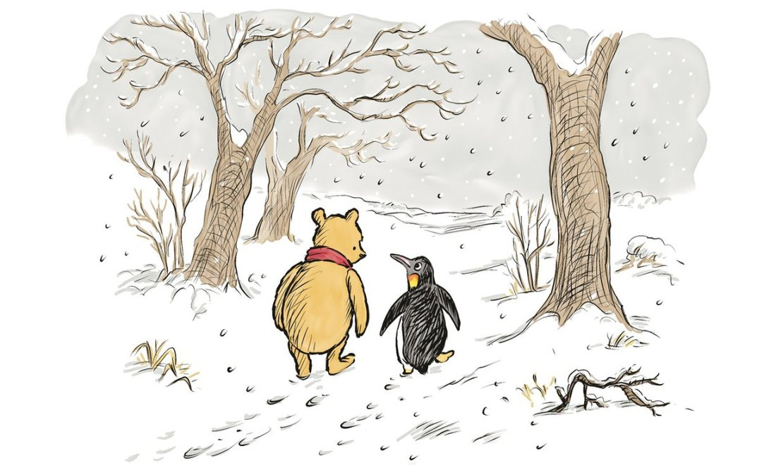 Winnie the Pooh & Penguin - The Best Bear in All the World
