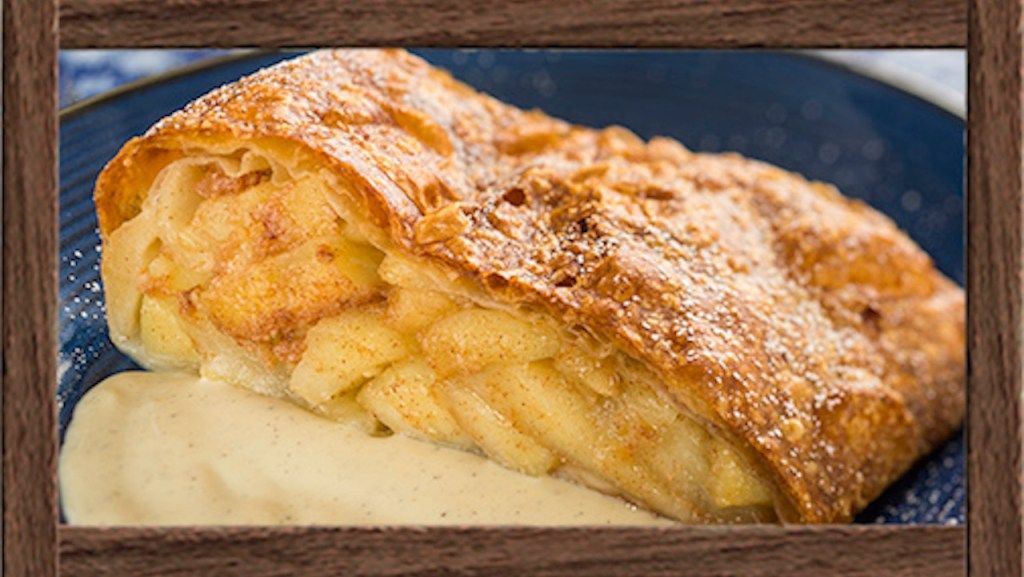 Geek Eats Disney Recipe: Apple Strudel - Epcot's Biergarten Restaurant
