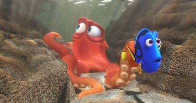 Hank and Dory in Finding Dory