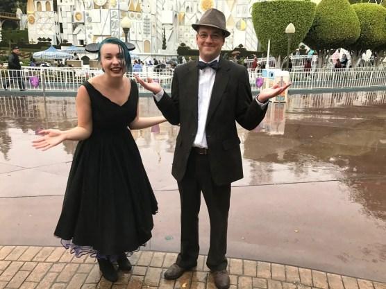 Rainy day at Disneyland!
