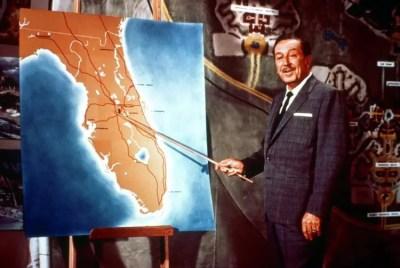 Walt Disney Shares His Plans for Florida