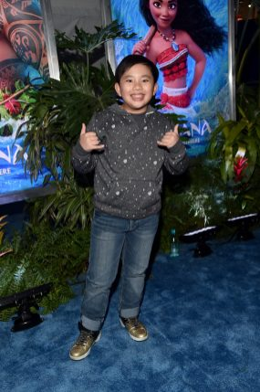 """HOLLYWOOD, CA - NOVEMBER 14: Actor Albert Tsai attends The World Premiere of Disney's """"MOANA"""" at the El Capitan Theatre on Monday, November 14, 2016 in Hollywood, CA. (Photo by Alberto E. Rodriguez/Getty Images for Disney) *** Local Caption *** Albert Tsai"""