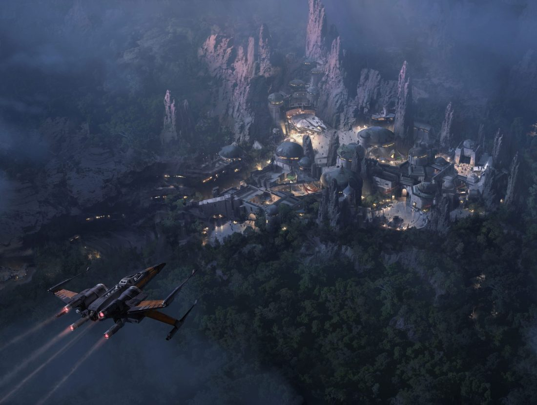 Star Wars-themed Land Expansion Art for Disney's Hollywood Studios