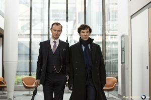 A Look at the Cast's Return to the Set Ahead of Sherlock's Return for Series 4