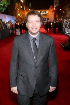 """HOLLYWOOD, CA - DECEMBER 10: Director Gareth Edwards attends The World Premiere of Lucasfilm's highly anticipated, first-ever, standalone Star Wars adventure, """"Rogue One: A Star Wars Story"""" at the Pantages Theatre on December 10, 2016 in Hollywood, California. (Photo by Jesse Grant/Getty Images for Disney) *** Local Caption *** Gareth Edwards"""