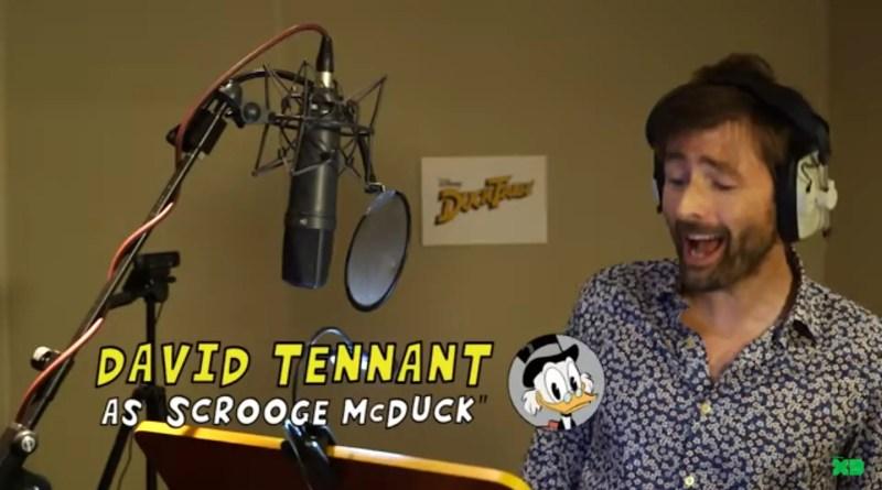 David Tennant is Scrooge McDuck in New DuckTales on Disney XD