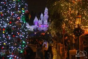 Sleeping Beauty Castle - Disneyland Holiday Time - Christmas