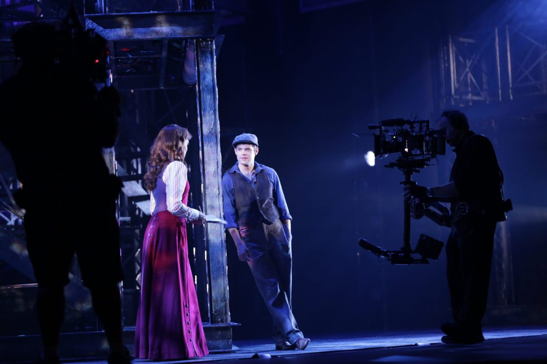 newsies_filming_jeremyjordan_karalindsay_photo_by_disneytheatricalproductions11