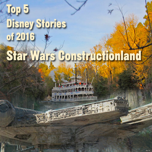 Star Wars Constructionland - Top 5 Disney Stories of 2016 - #2