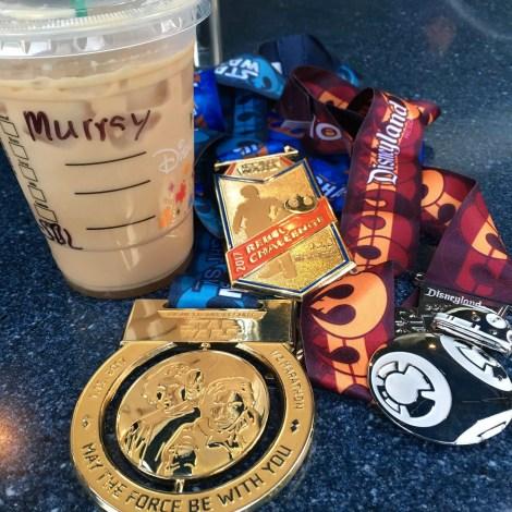 star wars half marathon 2017 medals
