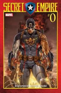 Marvel Comics News Digest 2/13 – 2/17/17 Featuring Secret Empire and Spider-Man