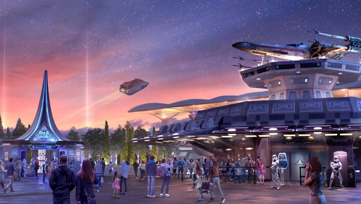 Star Tours: The Adventures Continue at Disneyland Paris