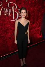 "Emma Watson arrives for the world premiere of Disney's live-action ""Beauty and the Beast"" at the El Capitan Theatre in Hollywood as the cast and filmmakers continue their worldwide publicity tour. (Photo: Alex J. Berliner/ABImages)"