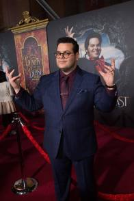 "Josh Gad arrives for the world premiere of Disney's live-action ""Beauty and the Beast"" at the El Capitan Theatre in Hollywood as the cast and filmmakers continue their worldwide publicity tour. .(Photo: Alex J. Berliner/ABImages)"