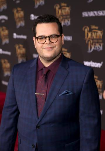 """LOS ANGELES, CA - MARCH 02: Actor Josh Gad arrives for the world premiere of Disney's live-action """"Beauty and the Beast"""" at the El Capitan Theatre in Hollywood as the cast and filmmakers continue their worldwide publicity tour on March 2, 2017 in Los Angeles, California. (Photo by Jesse Grant/Getty Images for Disney) *** Local Caption *** Josh Gad"""