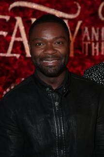 """David Oyelowo arrives for the world premiere of Disney's live-action """"Beauty and the Beast"""" at the El Capitan Theatre in Hollywood as the cast and filmmakers continue their worldwide publicity tour. (Photo: Alex J. Berliner/ABImages)"""