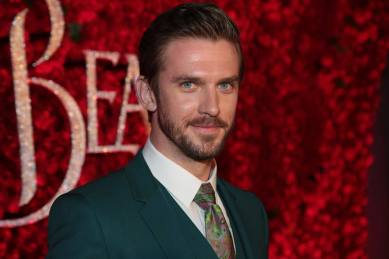 """Dan Stevens arrives for the world premiere of Disney's live-action """"Beauty and the Beast"""" at the El Capitan Theatre in Hollywood as the cast and filmmakers continue their worldwide publicity tour. (Photo: Alex J. Berliner/ABImages)"""