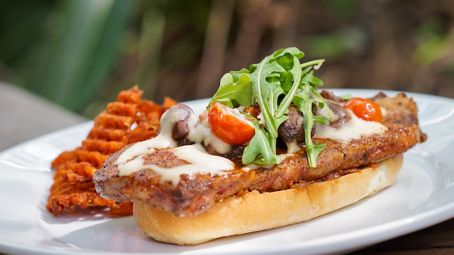 New York Steak Sandwich Cafe Orleans