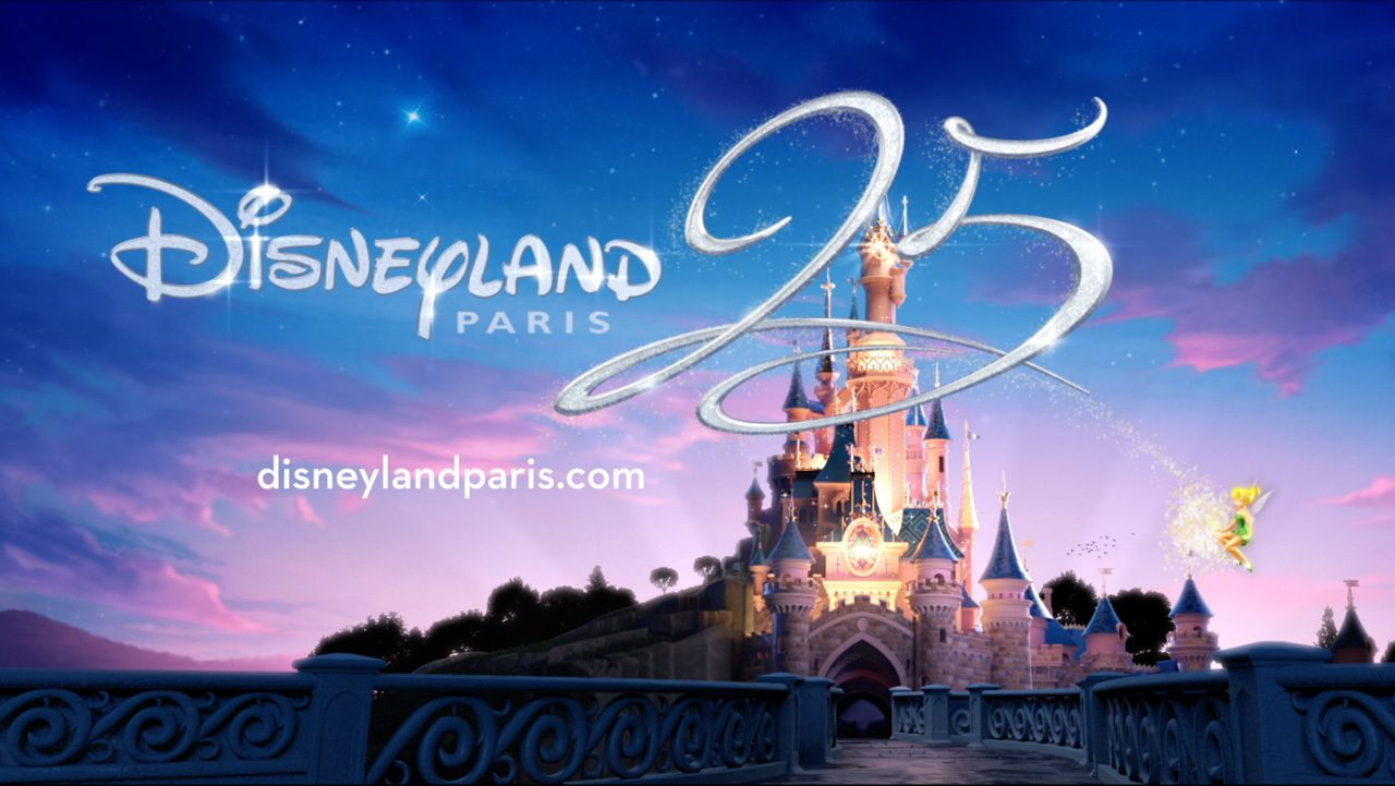 Disneyland Paris' 25th Anniversary Celebration