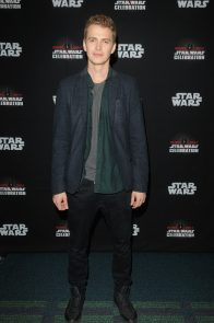 ORLANDO, FL - APRIL 13: Hayden Christensen attends the 40 YEARS OF STAR WARS PANEL during the 2017 STAR WARS CELEBRATION at Orange County Convention Center on April 13, 2017 in Orlando, Florida. (Photo by Gerardo Mora/Getty Images for Disney) *** Local Caption *** Hayden Christensen