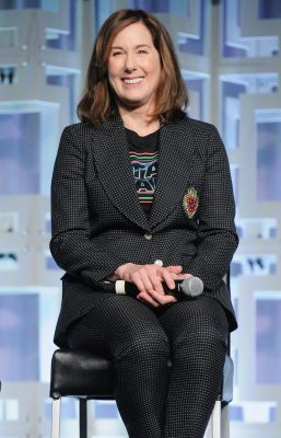 ORLANDO, FL - APRIL 14: Kathleen Kennedy attends the STAR WARS: THE LAST JEDI PANEL during the 2017 STAR WARS CELEBRATION at Orange County Convention Center on April 14, 2017 in Orlando, Florida. (Photo by Gerardo Mora/Getty Images for Disney) *** Local Caption *** Kathleen Kennedy