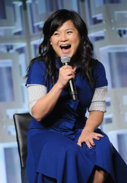 ORLANDO, FL - APRIL 14: Kelly Marie Tran attends the STAR WARS: THE LAST JEDI PANEL during the 2017 STAR WARS CELEBRATION at Orange County Convention Center on April 14, 2017 in Orlando, Florida. (Photo by Gerardo Mora/Getty Images for Disney) *** Local Caption *** Kelly Marie Tran