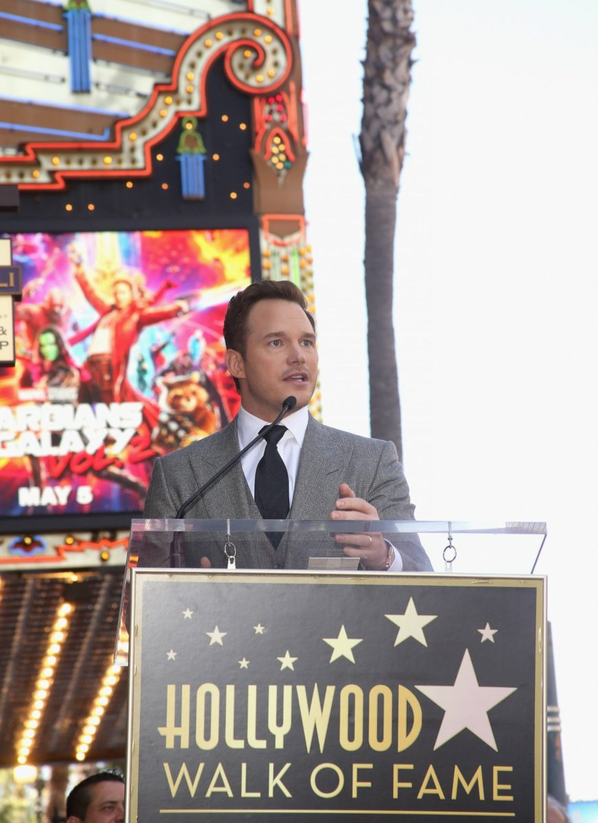 Chris Pratt Receives Hollywood Walk of Fame Star