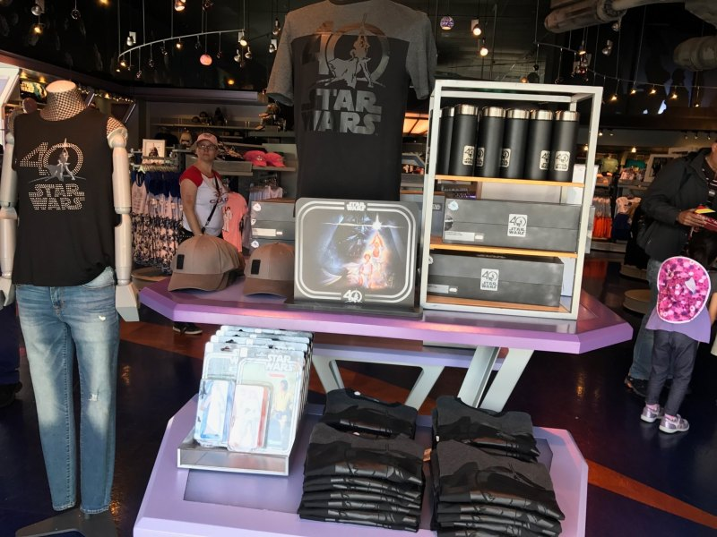 Star Wars 40th Anniversary Merchandise at Disneyland