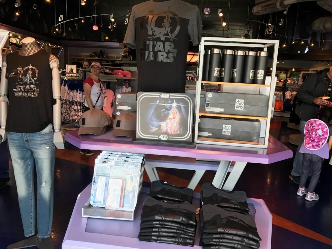 Star Wars 40th Anniversary Merchandise at Disneyland