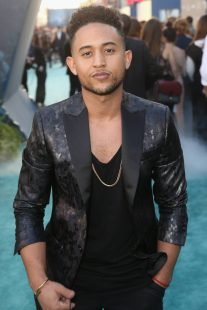 """HOLLYWOOD, CA - MAY 18: Actor Tahj Mowry at the Premiere of Disney's and Jerry Bruckheimer Films' """"Pirates of the Caribbean: Dead Men Tell No Tales,"""" at the Dolby Theatre in Hollywood, CA with Johnny Depp as the one-and-only Captain Jack in a rollicking new tale of the high seas infused with the elements of fantasy, humor and action that have resulted in an international phenomenon for the past 13 years. May 18, 2017 in Hollywood, California. (Photo by Jesse Grant/Getty Images for Disney) *** Local Caption *** Tahj Mowry"""