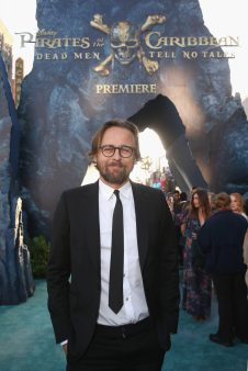 "HOLLYWOOD, CA - MAY 18: Director Joachim Ronning at the Premiere of Disney's and Jerry Bruckheimer Films' ""Pirates of the Caribbean: Dead Men Tell No Tales,"" at the Dolby Theatre in Hollywood, CA with Johnny Depp as the one-and-only Captain Jack in a rollicking new tale of the high seas infused with the elements of fantasy, humor and action that have resulted in an international phenomenon for the past 13 years. May 18, 2017 in Hollywood, California. (Photo by Jesse Grant/Getty Images for Disney) *** Local Caption *** Joachim Ronning"