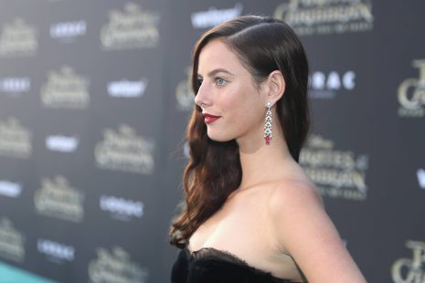 """HOLLYWOOD, CA - MAY 18: Actor Kaya Scodelario at the Premiere of Disney's and Jerry Bruckheimer Films' """"Pirates of the Caribbean: Dead Men Tell No Tales,"""" at the Dolby Theatre in Hollywood, CA with Johnny Depp as the one-and-only Captain Jack in a rollicking new tale of the high seas infused with the elements of fantasy, humor and action that have resulted in an international phenomenon for the past 13 years. May 18, 2017 in Hollywood, California. (Photo by Rich Polk/Getty Images for Disney) *** Local Caption *** Kaya Scodelario"""