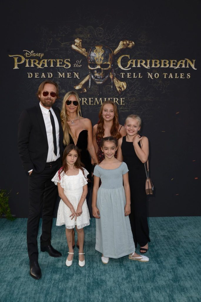 "HOLLYWOOD, CA - MAY 18: Director Joachim Ronning (L) and family at the Premiere of Disney's and Jerry Bruckheimer Films' ""Pirates of the Caribbean: Dead Men Tell No Tales,"" at the Dolby Theatre in Hollywood, CA with Johnny Depp as the one-and-only Captain Jack in a rollicking new tale of the high seas infused with the elements of fantasy, humor and action that have resulted in an international phenomenon for the past 13 years. May 18, 2017 in Hollywood, California. (Photo by Marc Flores/Getty Images for Disney) *** Local Caption *** Joachim Ronning"