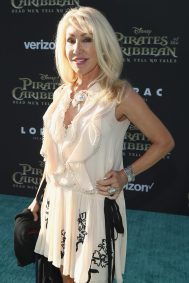 "HOLLYWOOD, CA - MAY 18: Songwriter Linda Thompson at the Premiere of Disney's and Jerry Bruckheimer Films' ""Pirates of the Caribbean: Dead Men Tell No Tales,"" at the Dolby Theatre in Hollywood, CA with Johnny Depp as the one-and-only Captain Jack in a rollicking new tale of the high seas infused with the elements of fantasy, humor and action that have resulted in an international phenomenon for the past 13 years. May 18, 2017 in Hollywood, California. (Photo by Rich Polk/Getty Images for Disney) *** Local Caption *** Linda Thompson"
