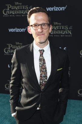 """HOLLYWOOD, CA - MAY 18: Actor Adam Brown at the Premiere of Disney's and Jerry Bruckheimer Films' """"Pirates of the Caribbean: Dead Men Tell No Tales,"""" at the Dolby Theatre in Hollywood, CA with Johnny Depp as the one-and-only Captain Jack in a rollicking new tale of the high seas infused with the elements of fantasy, humor and action that have resulted in an international phenomenon for the past 13 years. May 18, 2017 in Hollywood, California. (Photo by Rich Polk/Getty Images for Disney) *** Local Caption *** Adam Brown"""