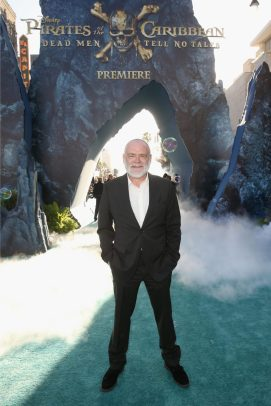 """HOLLYWOOD, CA - MAY 18: Actor Kevin McNally at the Premiere of Disney's and Jerry Bruckheimer Films' """"Pirates of the Caribbean: Dead Men Tell No Tales,"""" at the Dolby Theatre in Hollywood, CA with Johnny Depp as the one-and-only Captain Jack in a rollicking new tale of the high seas infused with the elements of fantasy, humor and action that have resulted in an international phenomenon for the past 13 years. May 18, 2017 in Hollywood, California. (Photo by Jesse Grant/Getty Images for Disney) *** Local Caption *** Kevin McNally"""