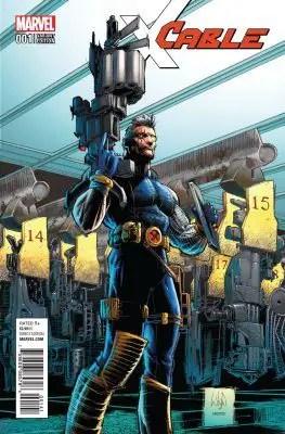 marvel comics cable