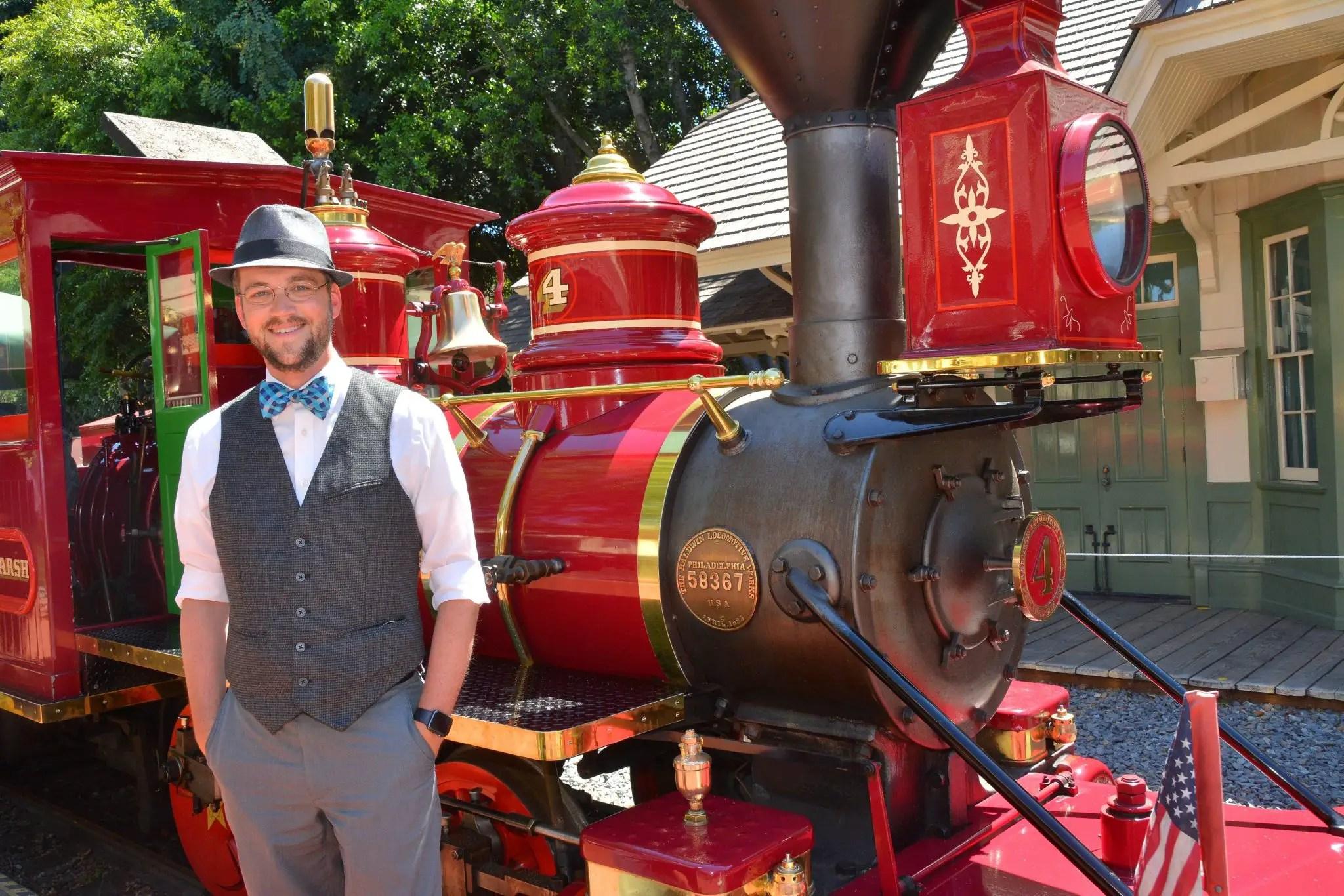 Mr. DAPs & Disneyland Railroad