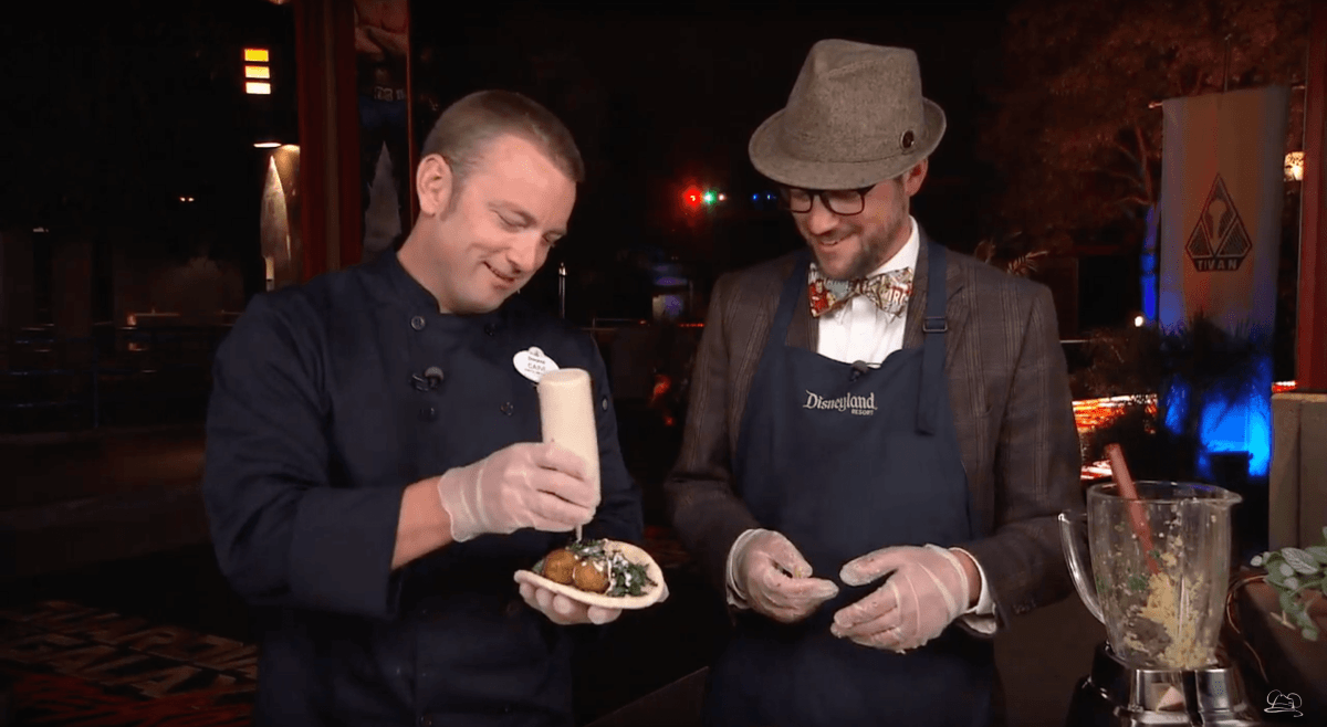 Food Fit for Heroes Featured During Summer of Heroes at Disneyland Resort - Mr. DAPs Learns How to Make Falafels