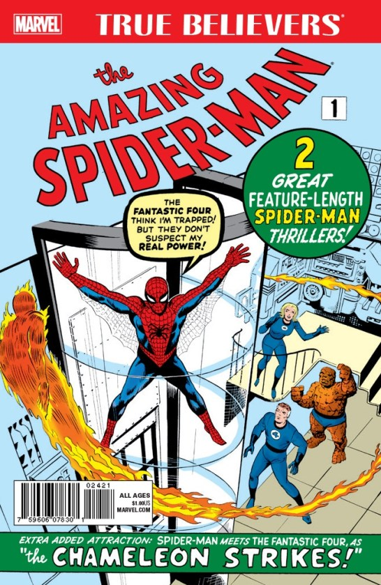 TRUE BELIEVERS_ AMAZING SPIDER-MAN 001