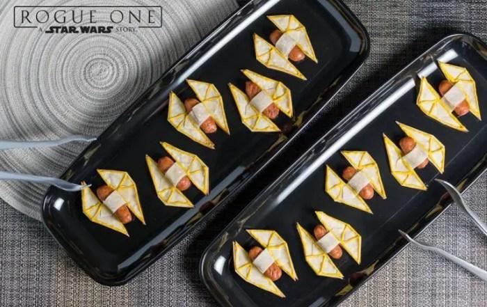 Geek Eats: TIE Striker Appetizer Recipe - Geeks Who Eat